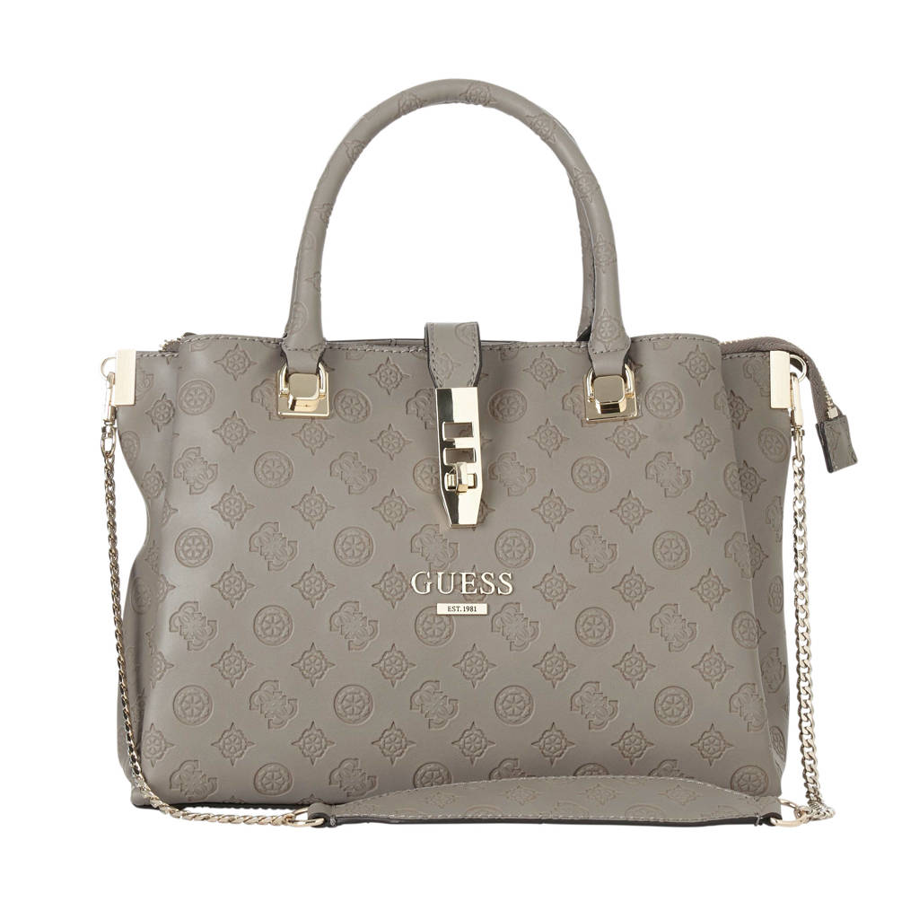 GUESS Peony Classic  handtas taupe, Taupe