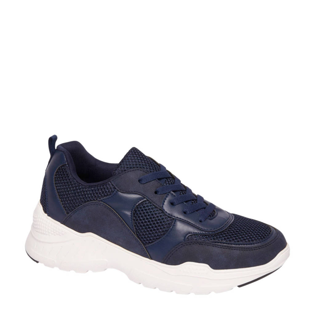 vanHaren Venice  sneakers donkerblauw, Blauw