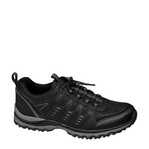 vanHaren Landrover wandelschoenen zwart kopen