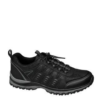4ee8a376ab5 vanHaren Landrover wandelschoenen zwart