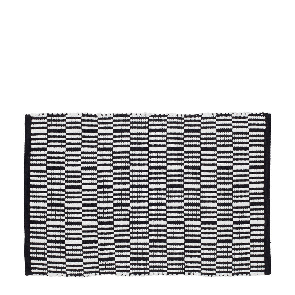 Sealskin Bandra badmat (60x90 cm), Zwart