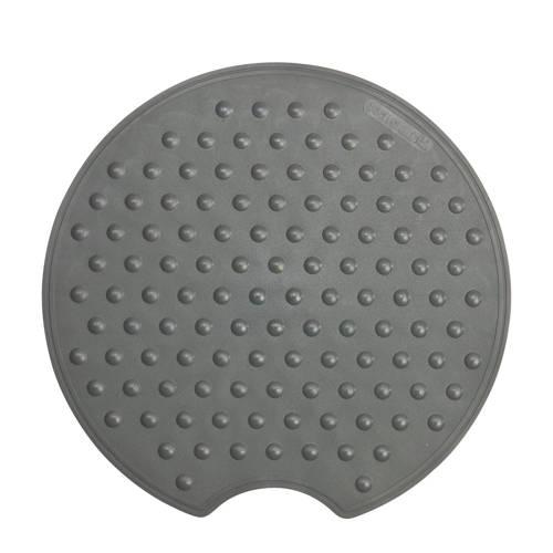 Sealskin Rotondo veiligheidsmat rubber rond antraciet