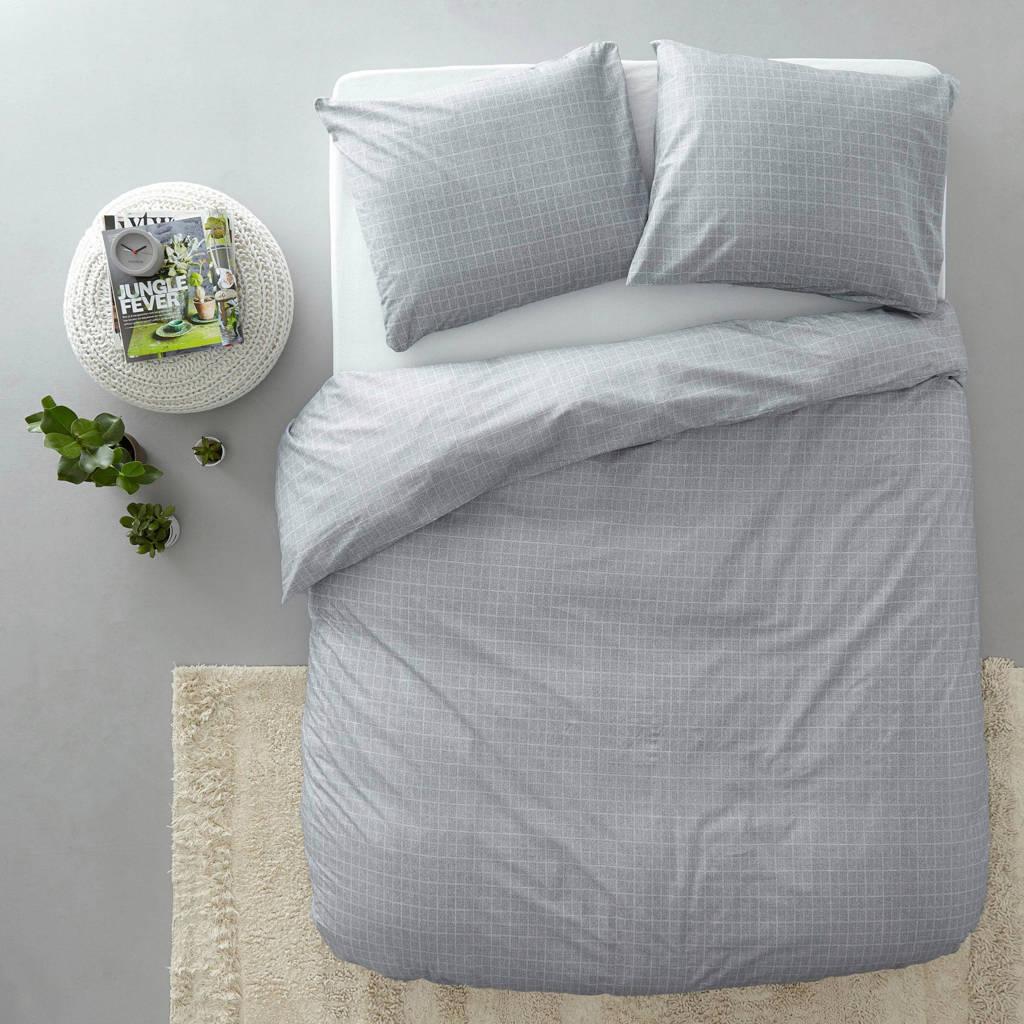 Damai katoenen dekbedovertrek lits-jumeaux, Lits-jumeaux (240 cm breed)