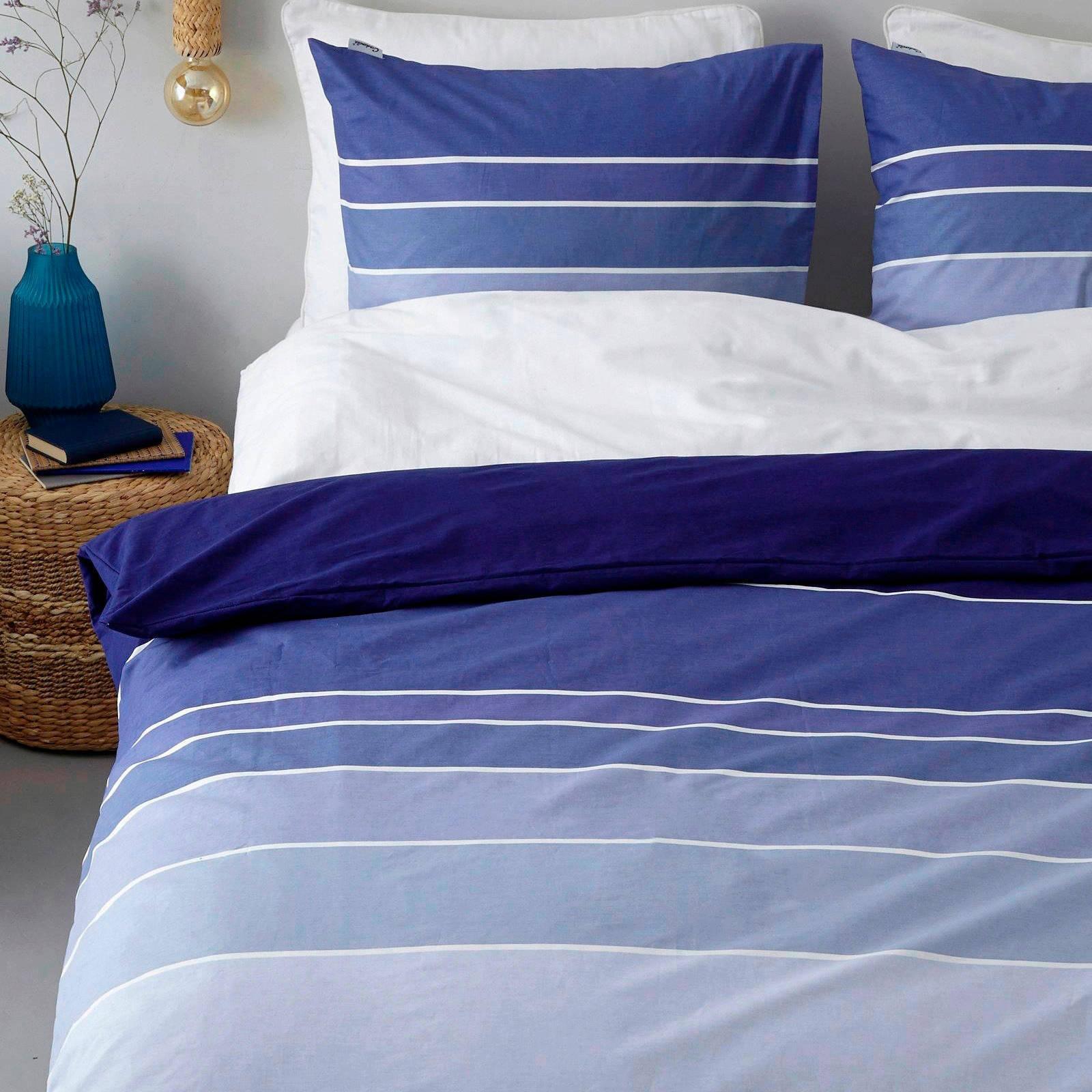 cinderella katoenen dekbedovertrek 1 persoons blauw