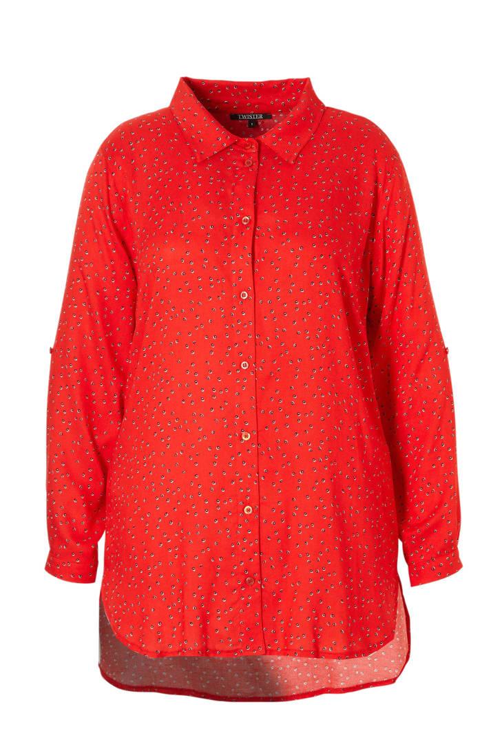 rood blouse rood blouse Twister Twister blouse Twister blouse rood Twister RfxqwvPP