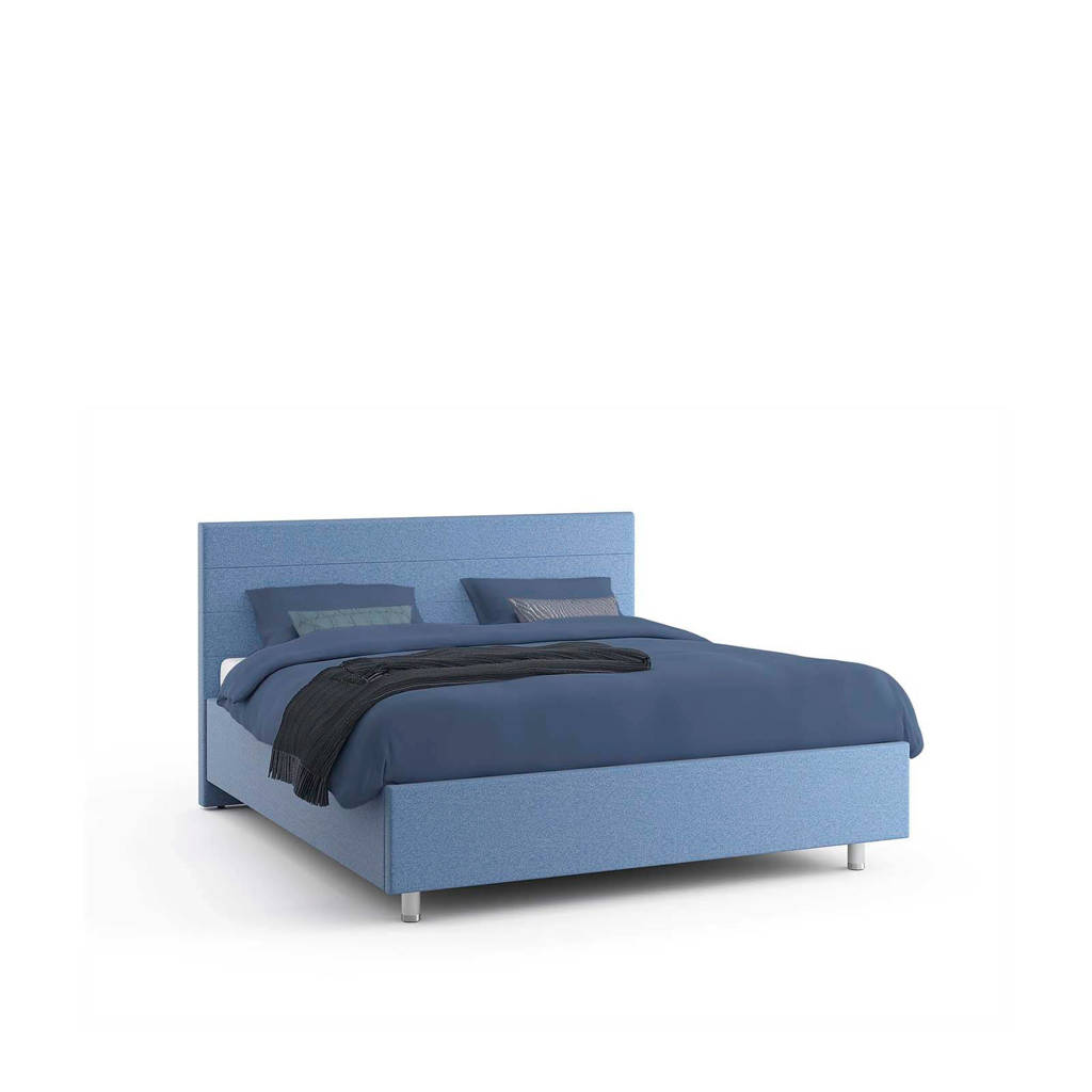 MioDormio bed Monza  (180x210 cm), Blauw