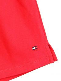 Tommy Hilfiger pyjamashort met merknaam rood, Rood