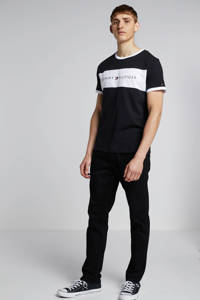 Tommy Hilfiger T-shirt zwart/wit, Zwart