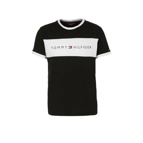Tommy Hilfiger T-shirt zwart/wit