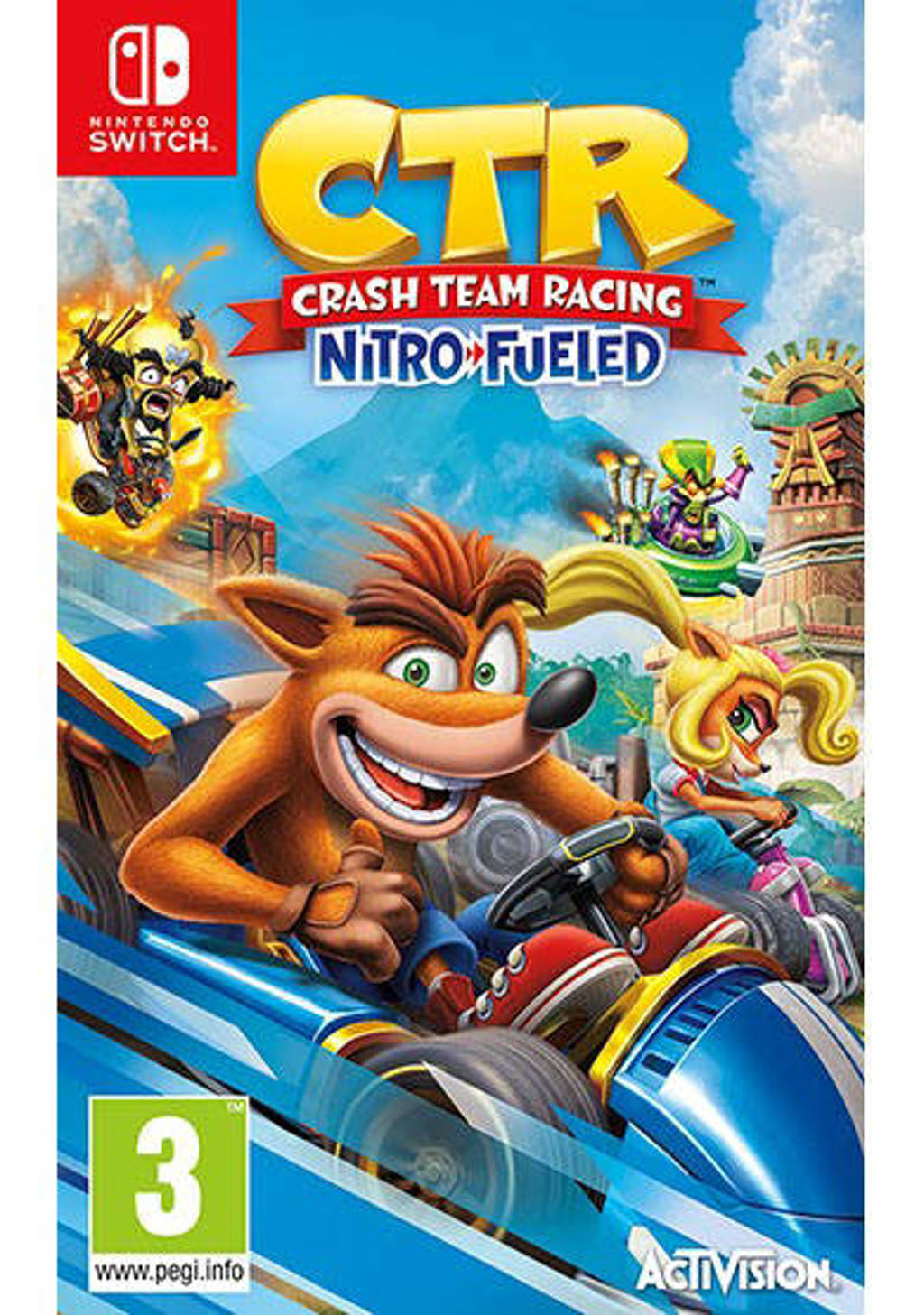 Crash team racing – Nitro Fueled  (Nintendo Switch)