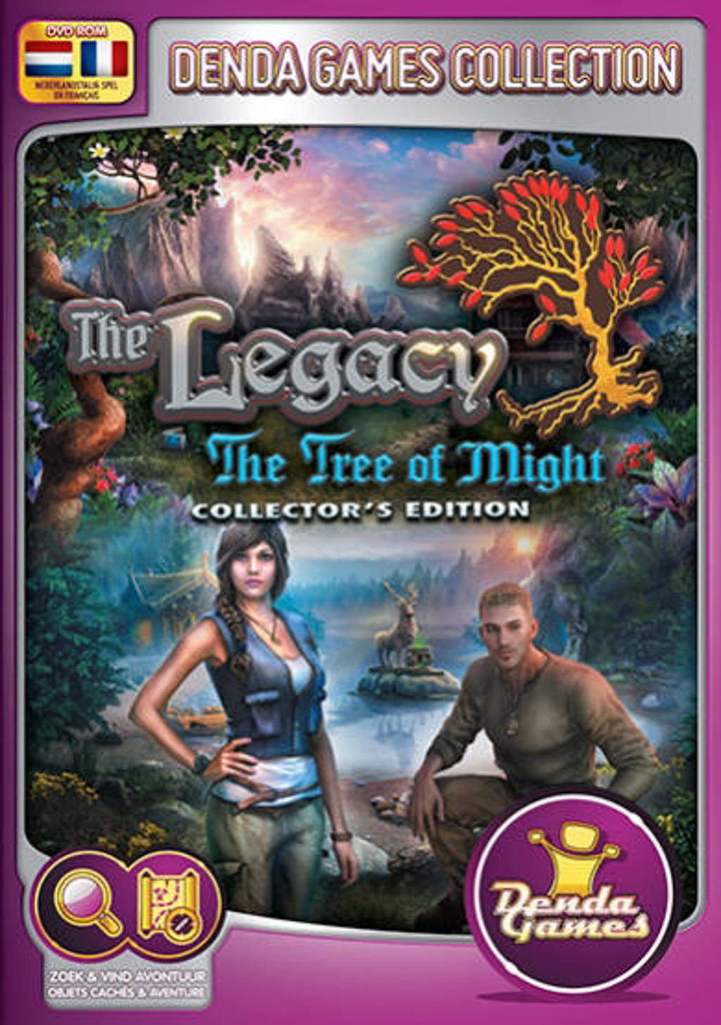 Legacy 3 - The tree of might (Collectors edition)  (PC)