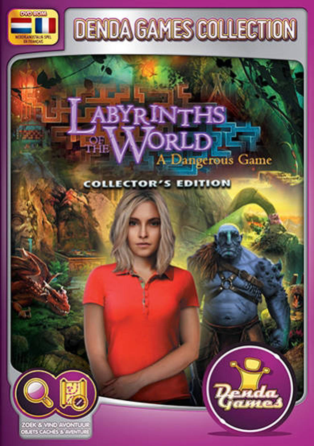 Labyrinths of the world - A dangerous game (Collectors edition)  (PC)