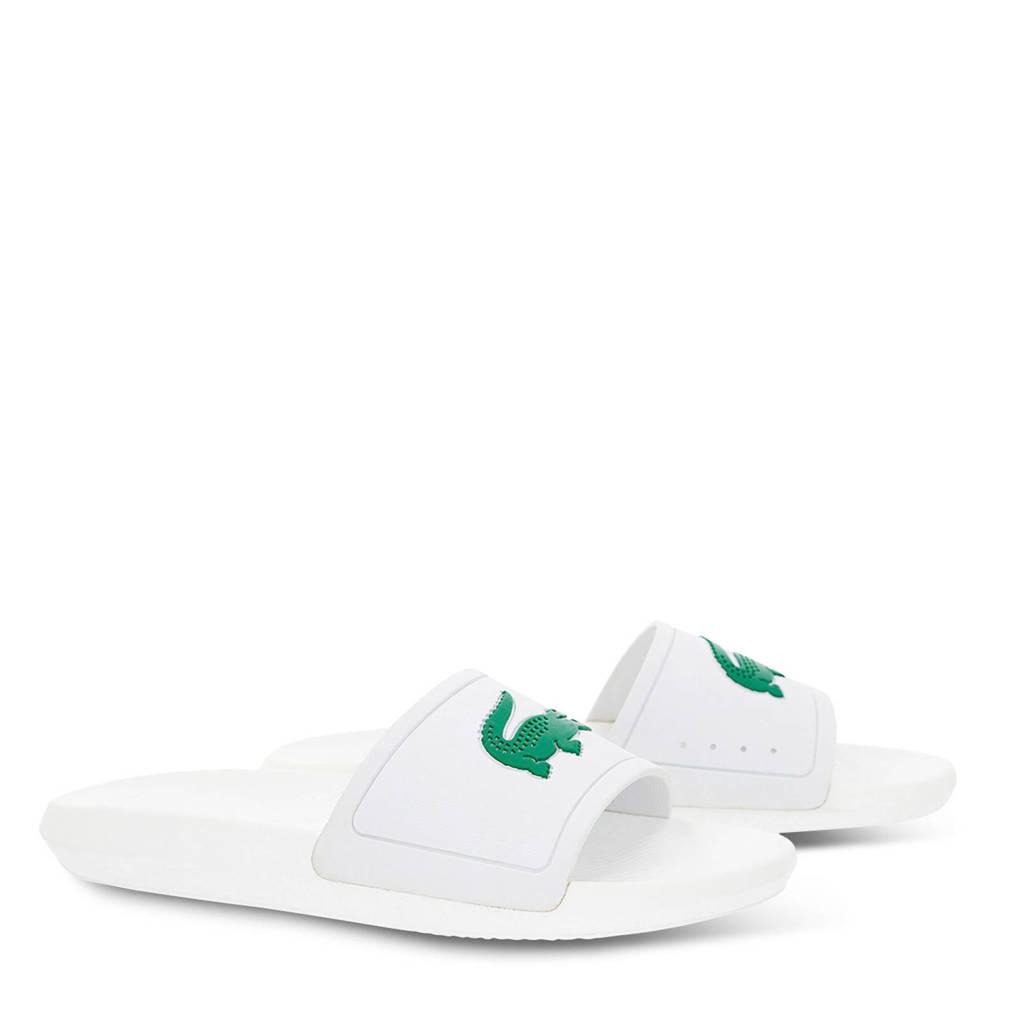 Lacoste Badslippers groen 119 Wit Slide Croco rCHf8qr