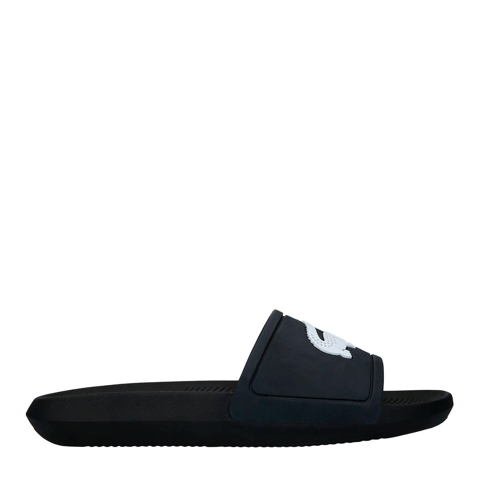 wit 119 zwart Slide badslippers Lacoste Croco xqwZXXU