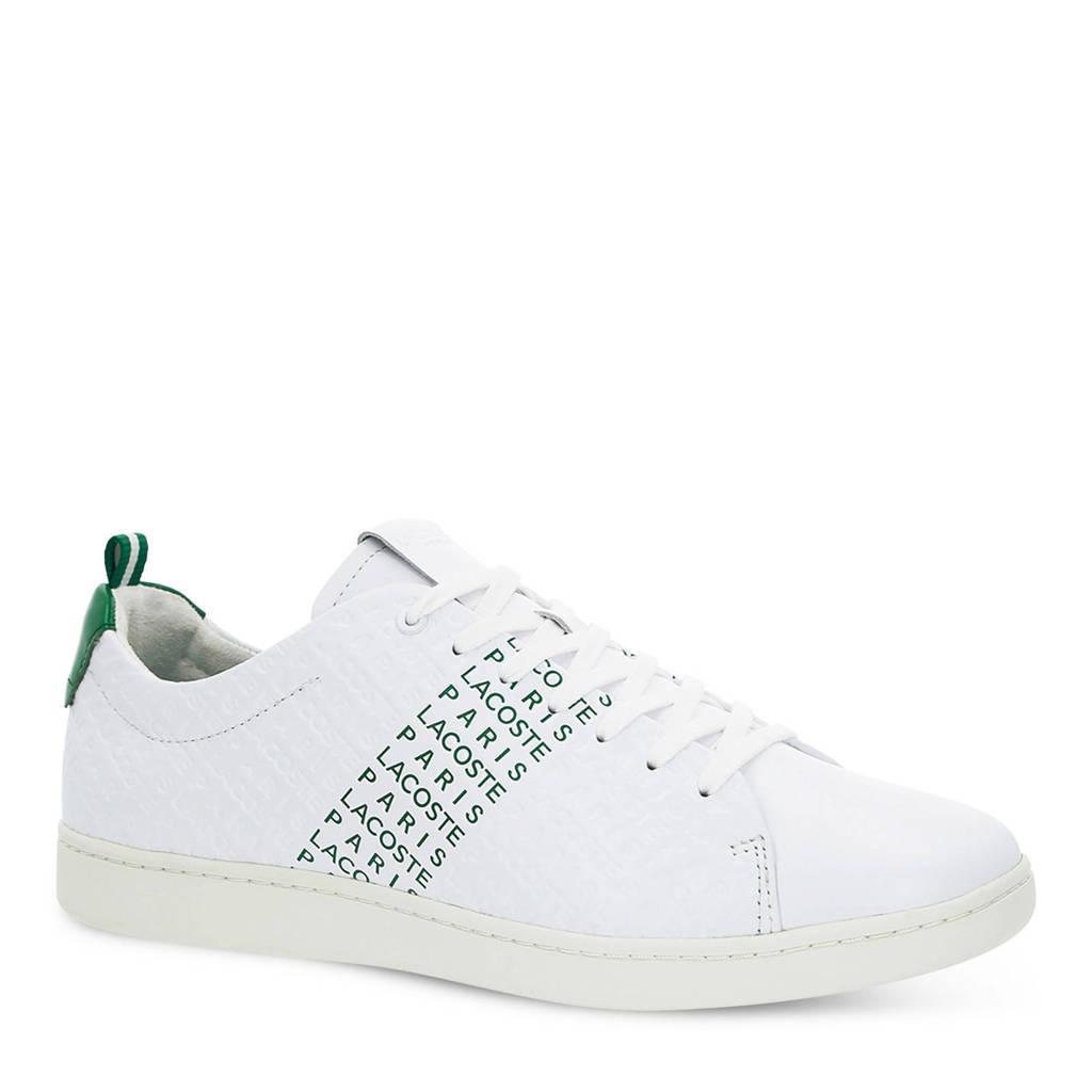 3c820505598 Lacoste Carnaby EVO 119 9 wit/groen, Wit/groen