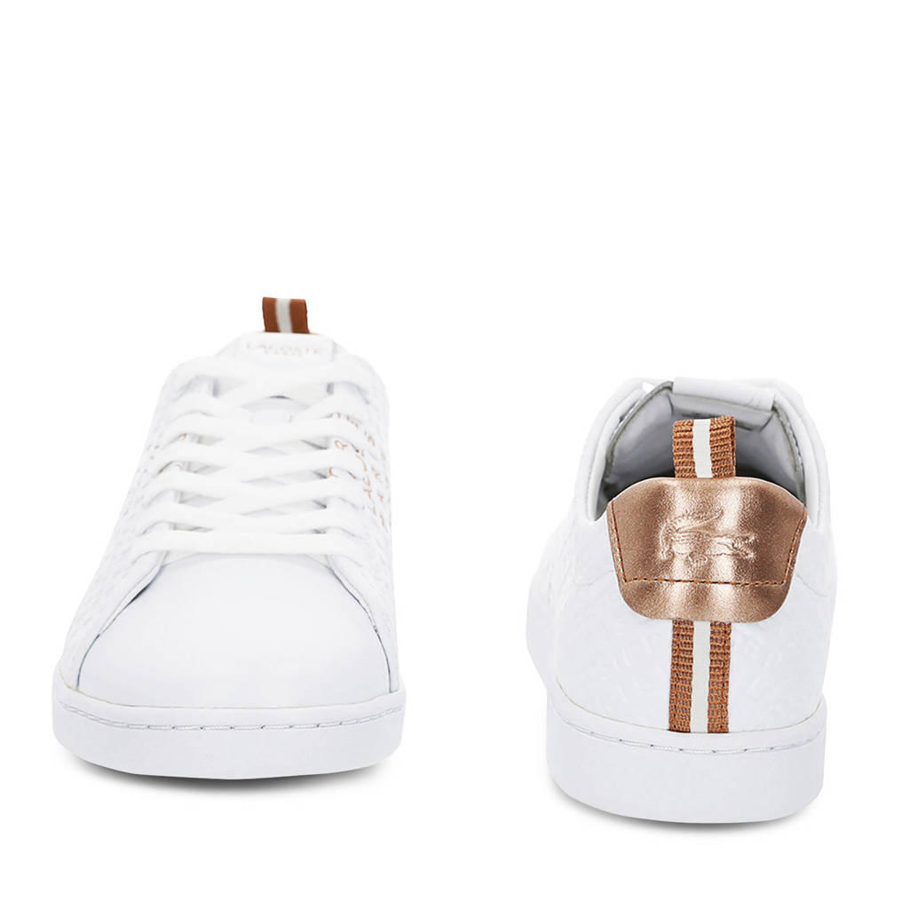 119 11 Carnaby Sneakers Evo Wit Lacoste 8qYSwT