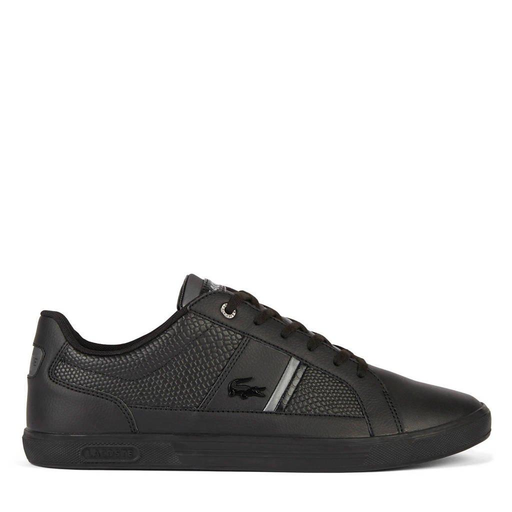 Lacoste Europa 417 sneakers zwart, Zwart