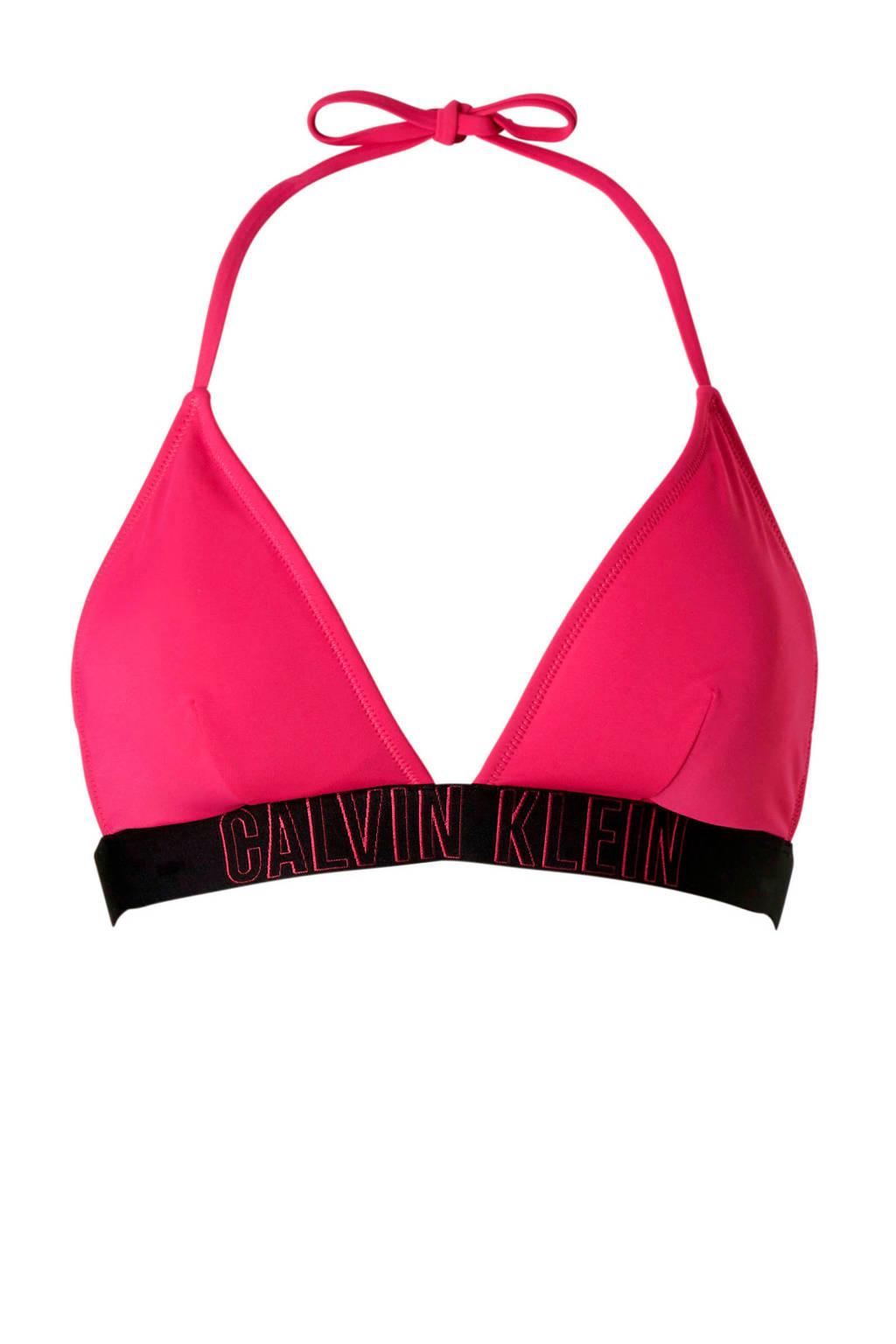 Calvin Klein Underwear triangel bikinitop roze, Roze