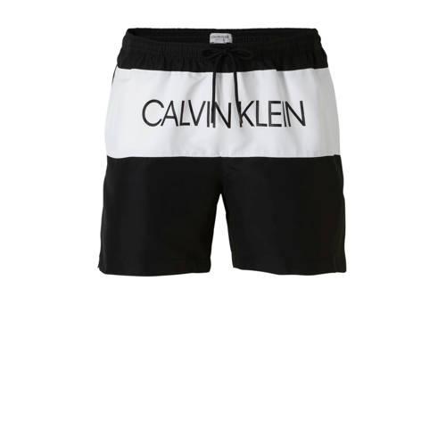 Calvin Klein Underwear zwemshort met merknaam zwart kopen