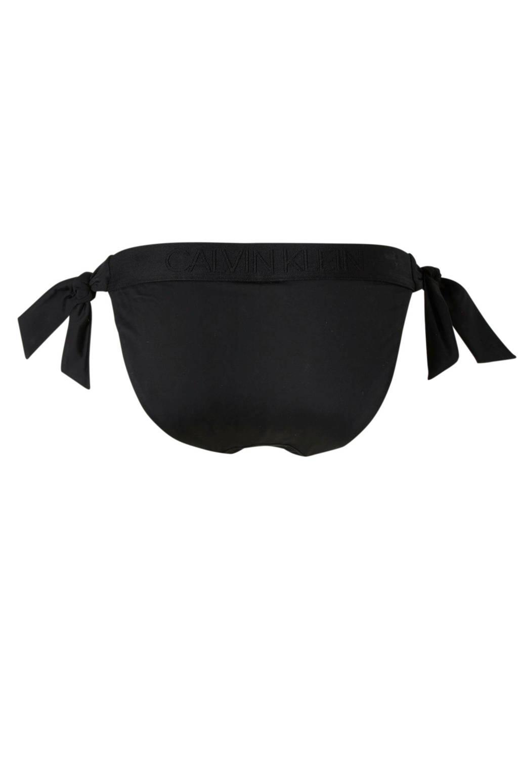 Kleinunderwear Zwart Broekje Bikini Strik Calvin SUx1dS