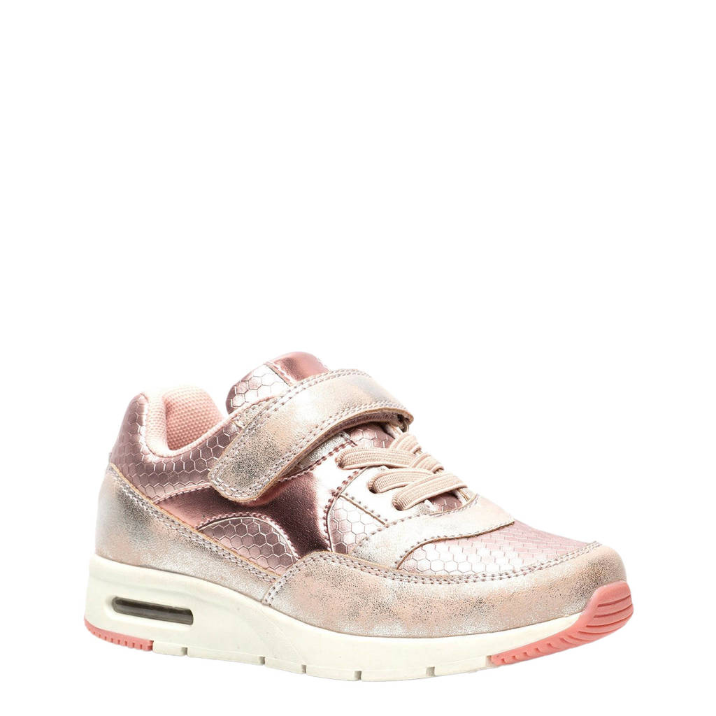 Scapino Blue Box   sneakers metallic roze, Metallic roze