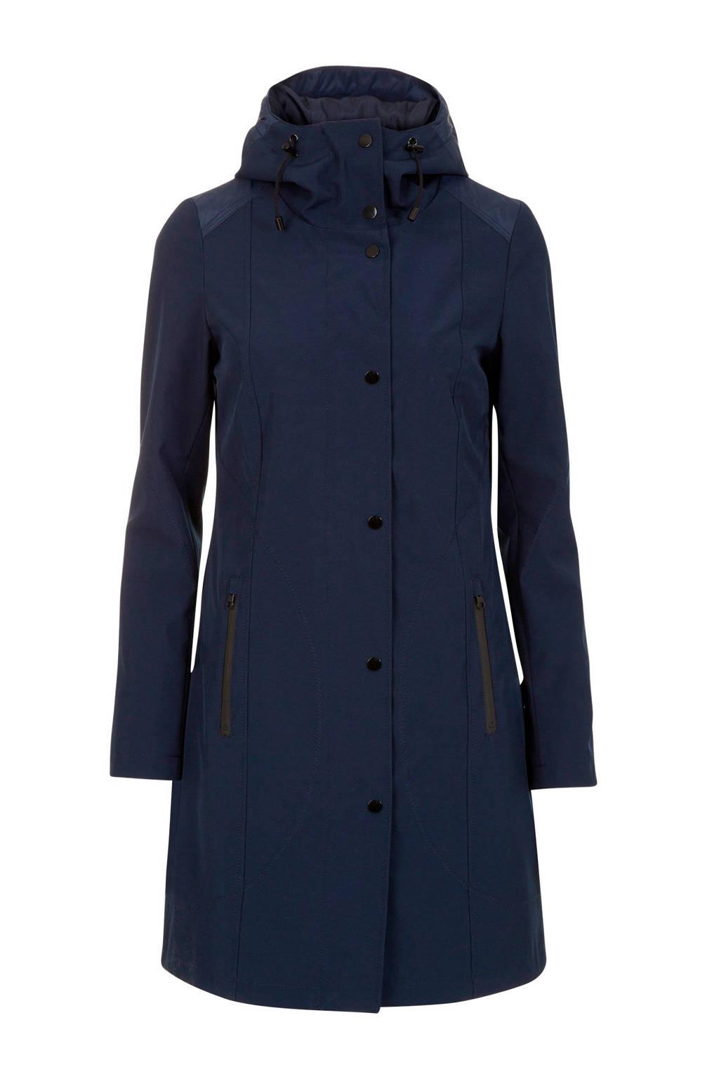 Miss Etam Regulier jas donkerblauw, Blauw