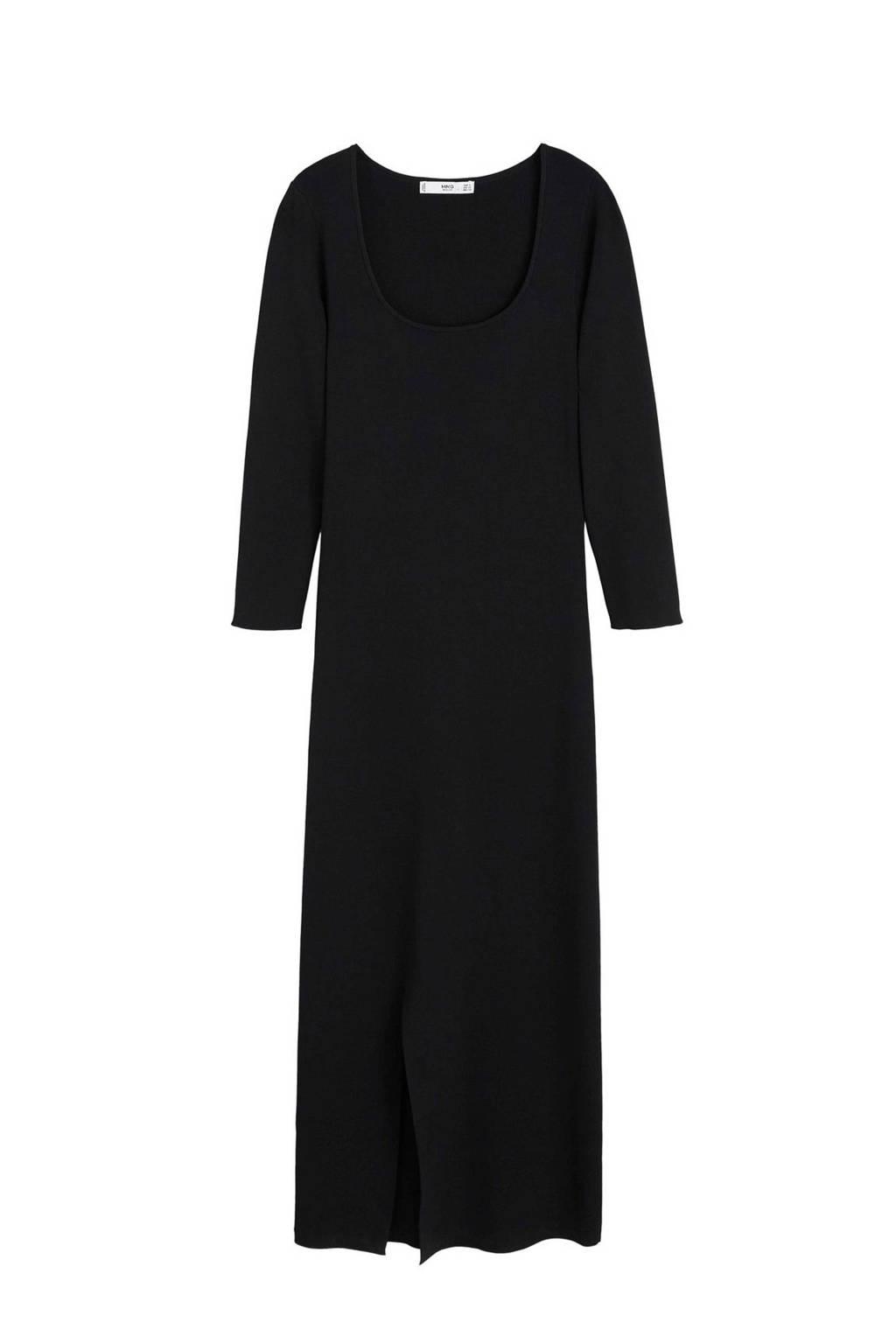 Mango jurk zwart, Zwart