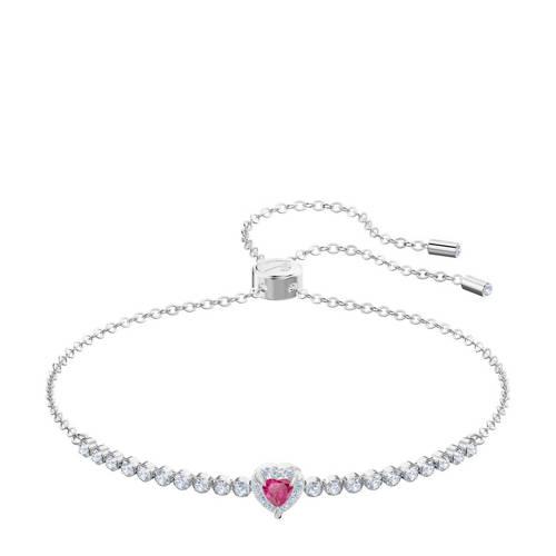 Swarovski 5456813 Armband One zilverkleurig-roze