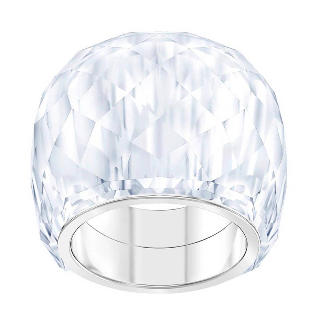 Swarovski ring Nirvana 5470311 zilver, Zilverkleurig