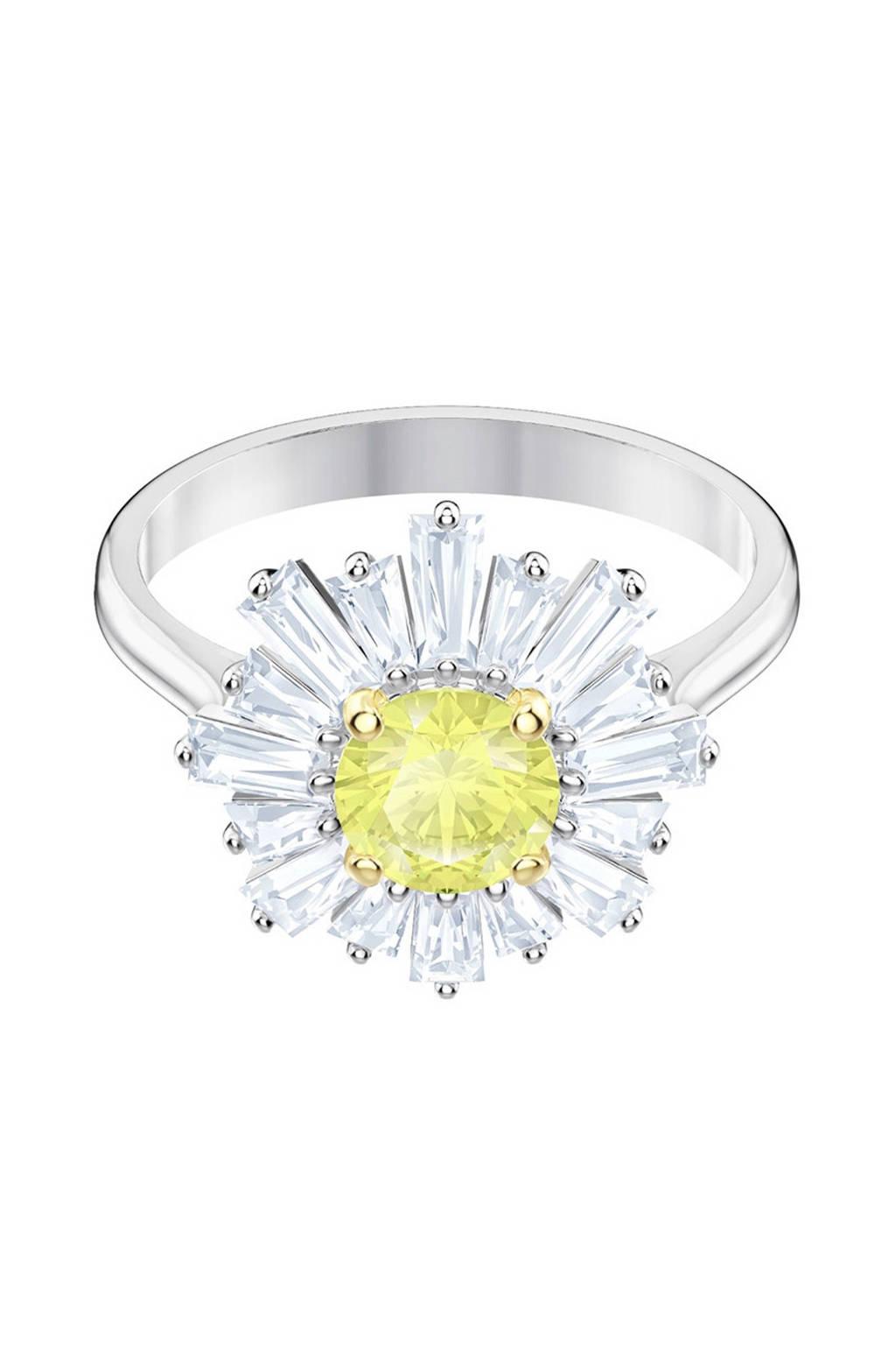 Swarovski ring Sunshine 5472481, Zilverkleurig