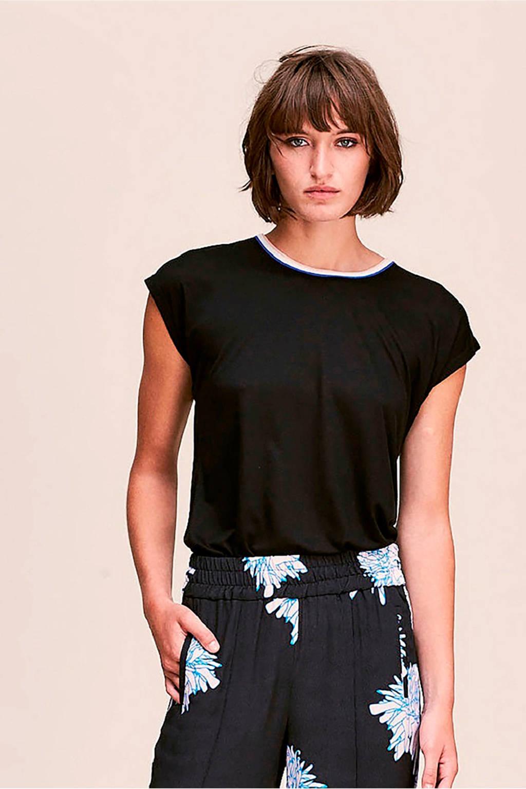 CKS Emerika T-shirt zwart, Zwart