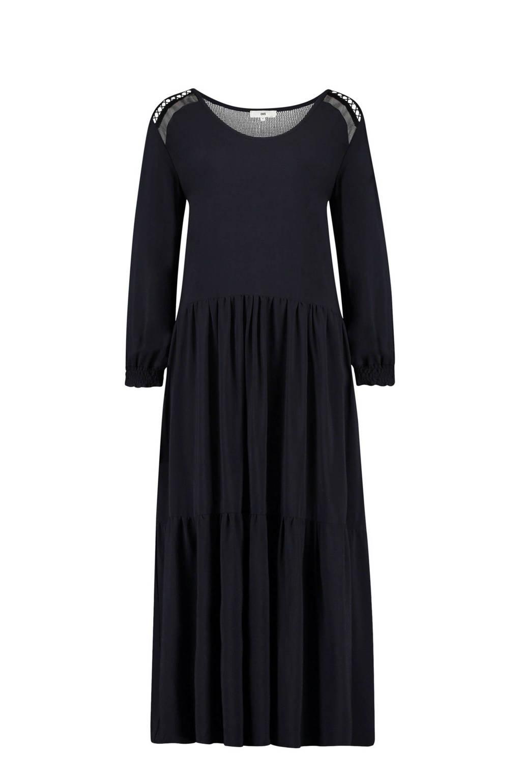 CKS Ellesse maxi jurk zwart, Zwart