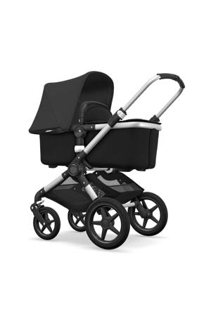 kinderwagen aluminium -  zwart - zwart