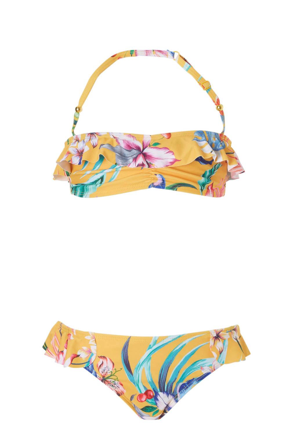 fc198a118214fa Shiwi bikini met all over print geel, geel/groen/wit