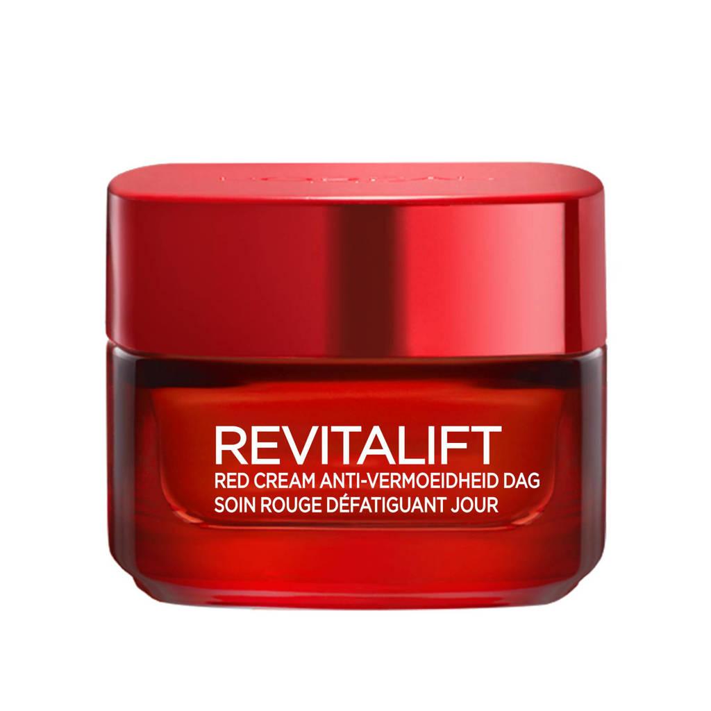 L'Oréal Paris Skin Expert Red Cream Anti-vermoeidheid dagcrème