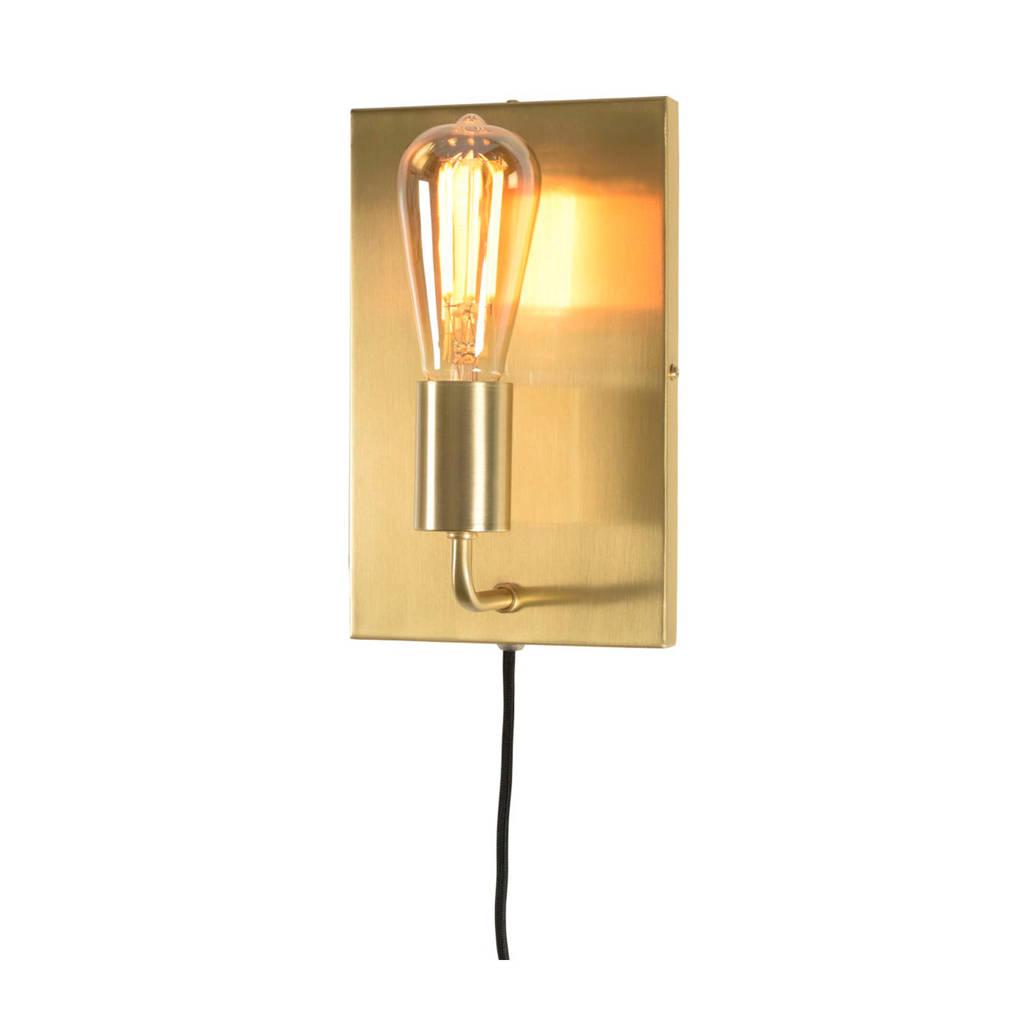 it's about RoMi wandlamp, Goud, 17x11x27 cm