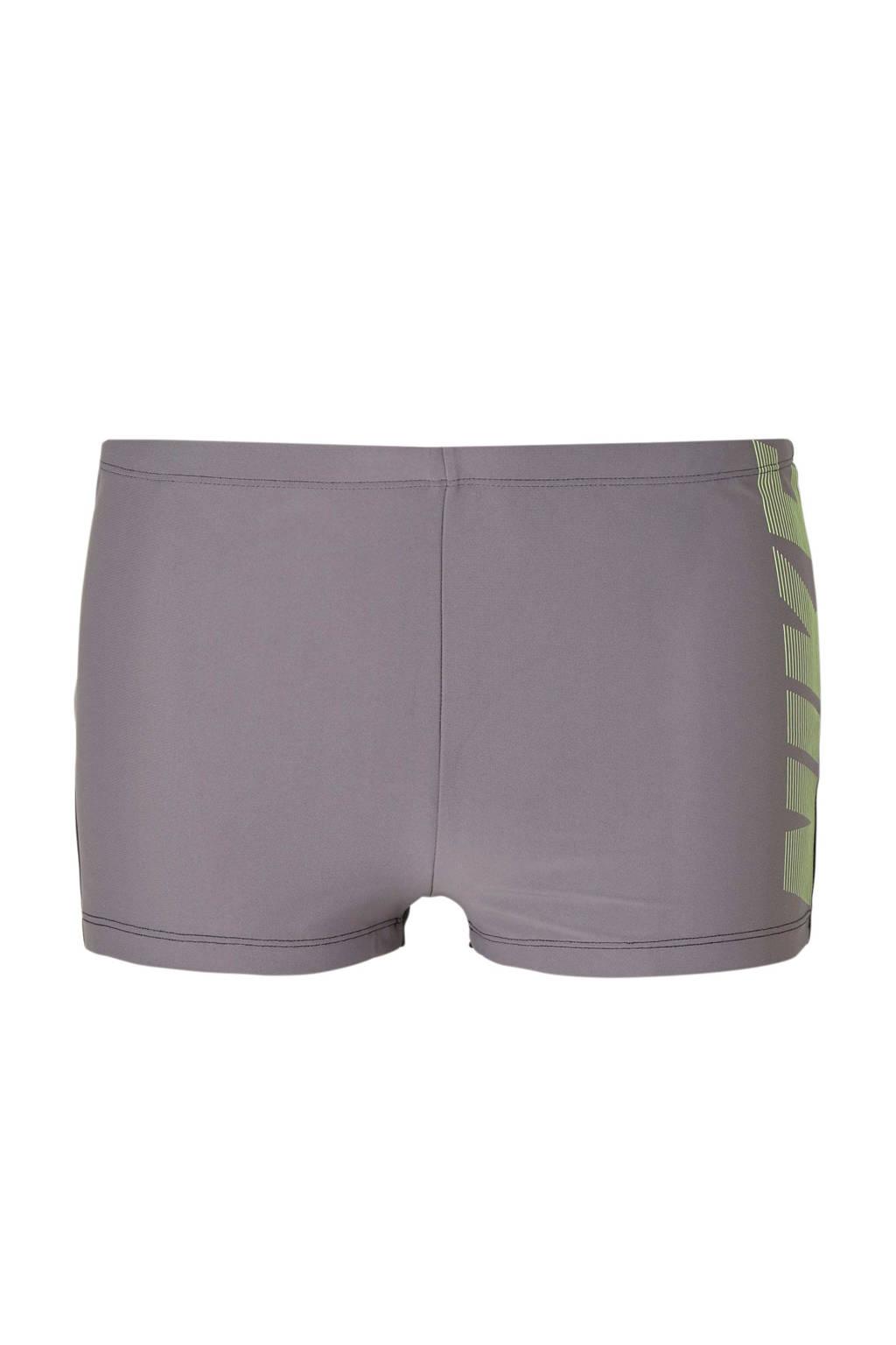 Nike zwemboxer grijs, Grijs/zwart
