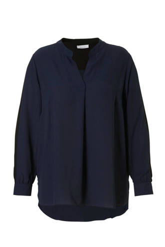 XL Yessica blouse blauw