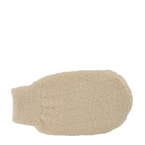 scrubhandschoen van biologisch katoen