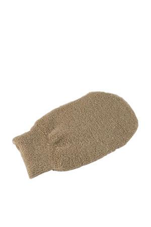 scrubhandschoen van biologisch linnen