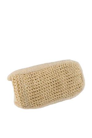 dubbelzijde scrubhandschoen van sisal & katoen