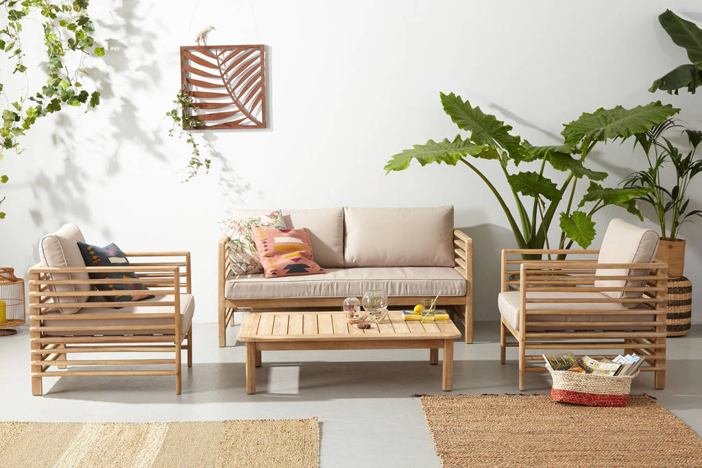 whkmp's own loungeset Selby, Naturel/Zand