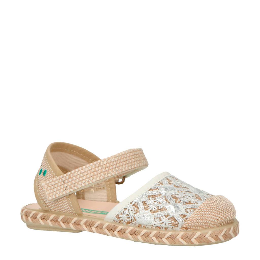 Bunnies sandalen zilver, Zilver
