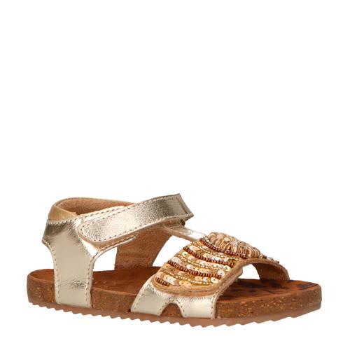 Vingino Lina leren sandalen goud kopen