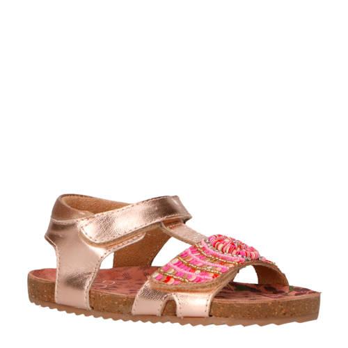 Vingino Lina leren sandalen roze kopen