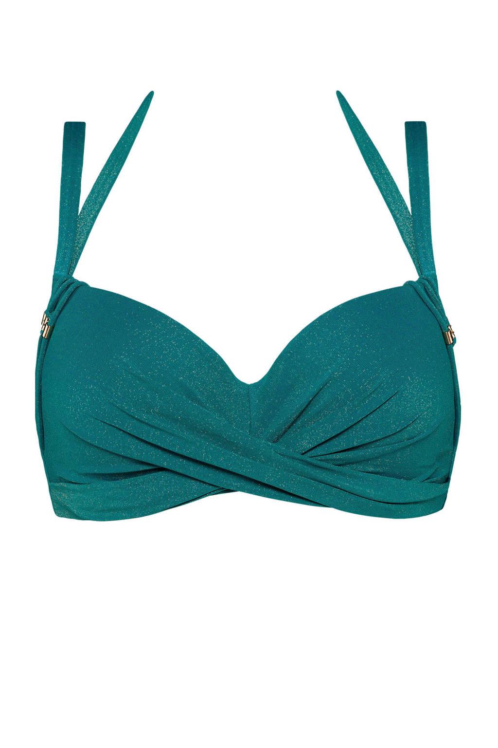 marlies dekkers halter bikinitop Holi Gypsy groen, Groen
