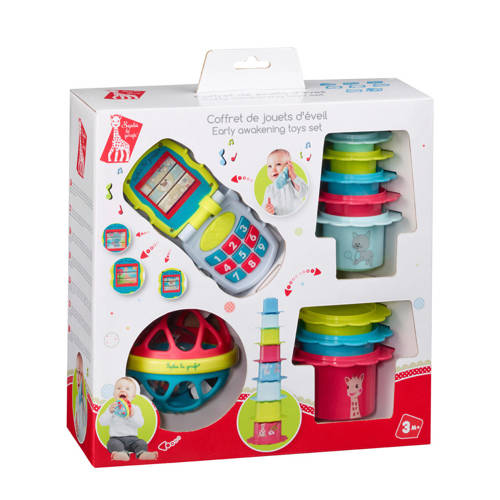 Sophie de Giraf early learning toys set kopen