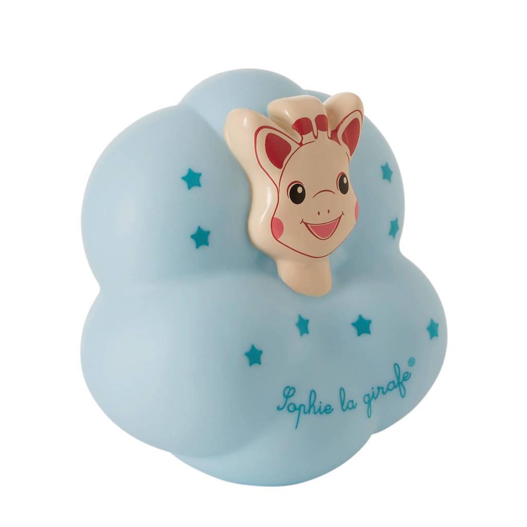 Sophie de Giraf Tap'on nachtlampje, Blauw