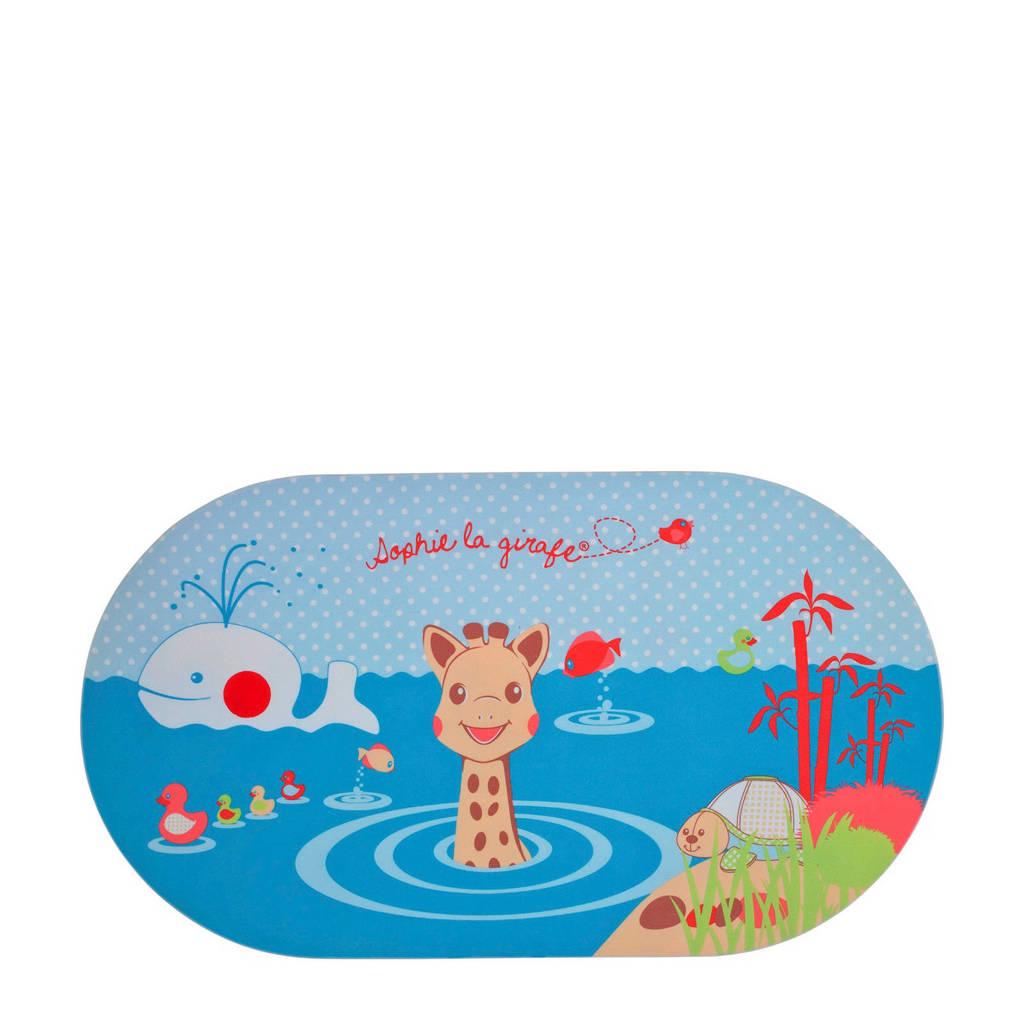 Sophie de Giraf badmat met temperatuurindicator, Blauw