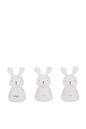 lichtpad van 3 LED-nachtlampjes konijntjes